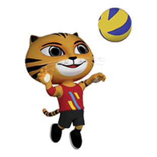 Icon Pictogram SEA Games 2017 Volleyball