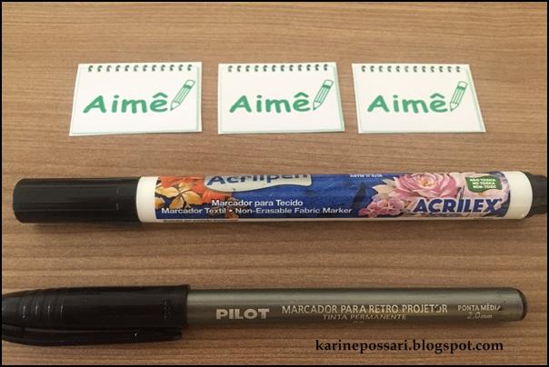 caneta permanente