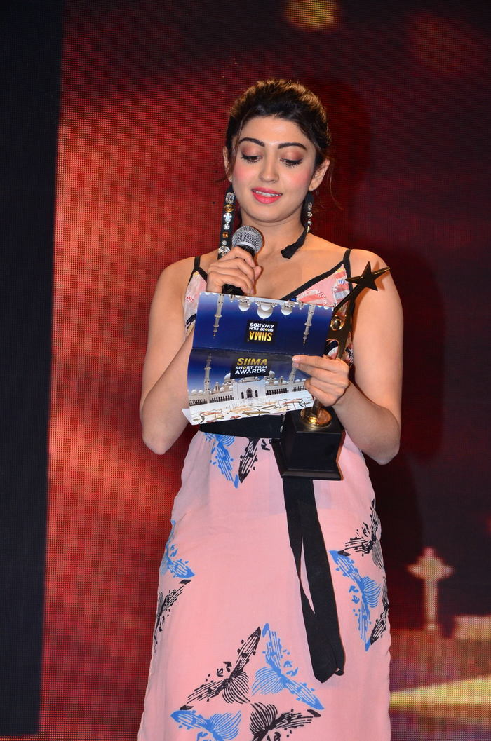 Pranitha at SIIMA Short Film Awards Gallery