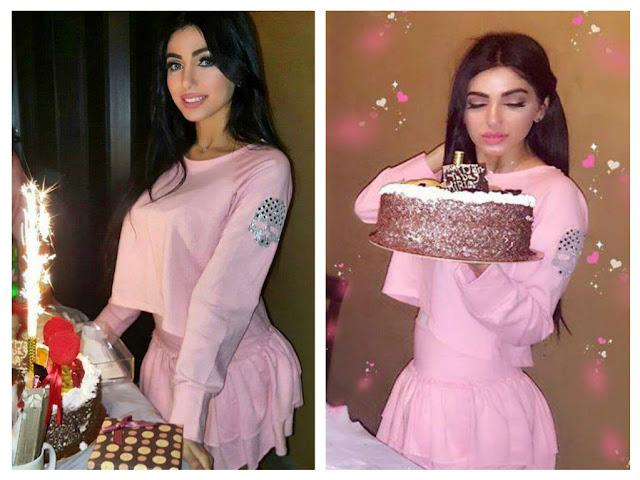 هكذا احتفلت النجمة ميرفا قمر في عيد ميلادها