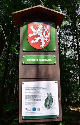 Hruboskalsko Rezerwat Przyrody