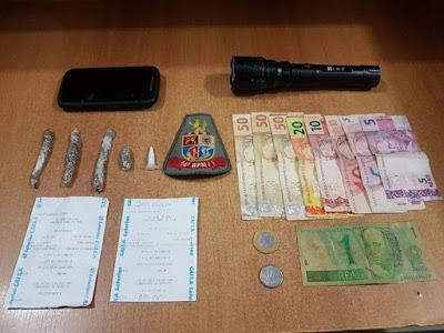 POLICIAS MILITARES EFETUAM PRISÃO DE TRAFICANTE E SÃO AGREDIDOS EM REGISTRO-SP