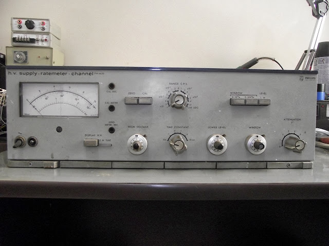 High Voltage Power Supply Ratemeter Philips PW4620