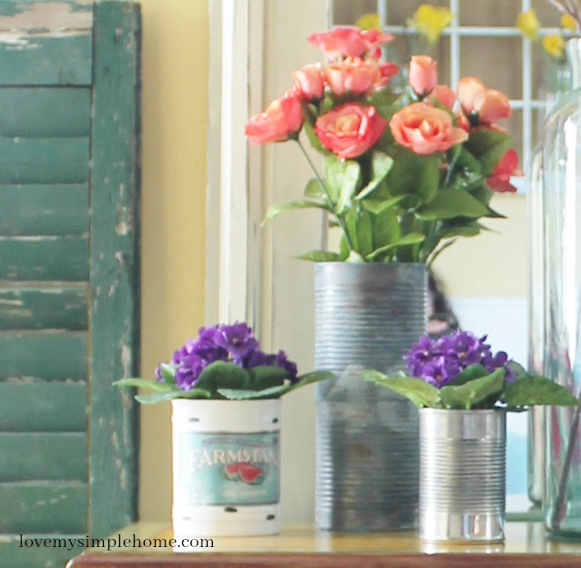 how to decorate with fake flowers tips & tricks-blog.lovemysimplehome.com