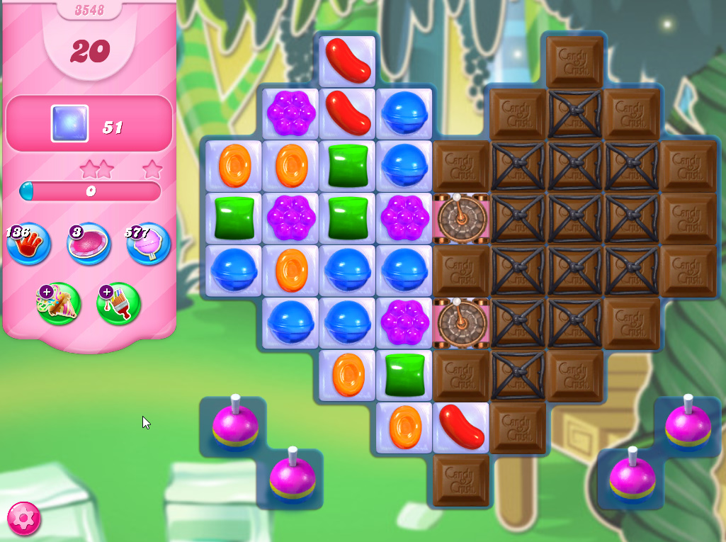 Candy Crush Saga level 3548