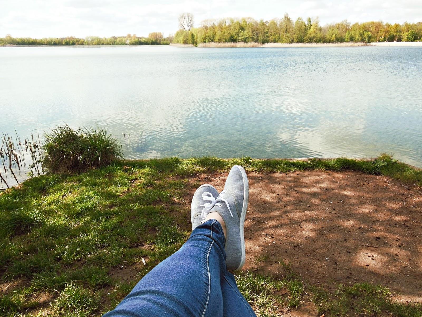 Winterswijk, Holandia, jezioro w Holandii, odpoczynek nad jeziorem