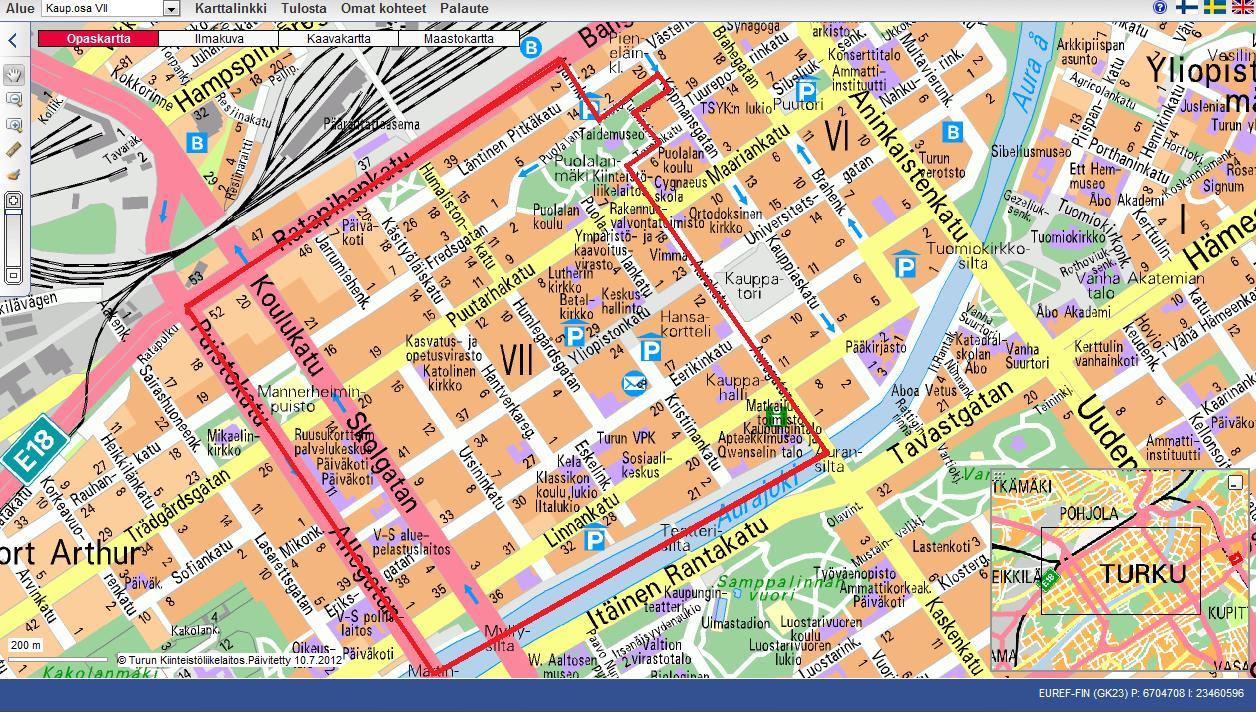 Puutarhakatu Turku Kartta | Kartta