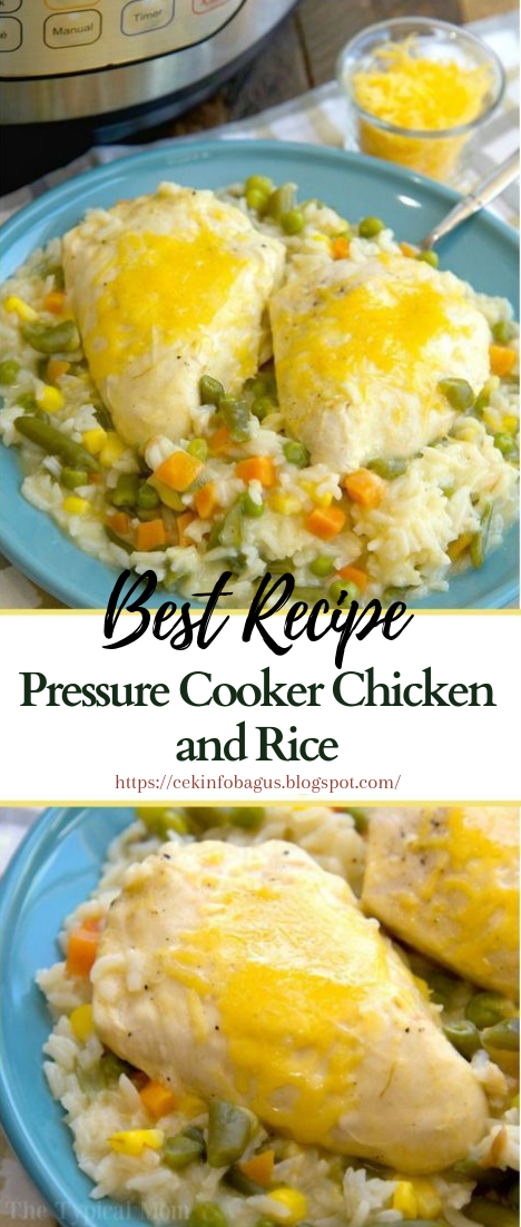 Pressure Cooker Chicken and Rice #dinnerrecipe #food