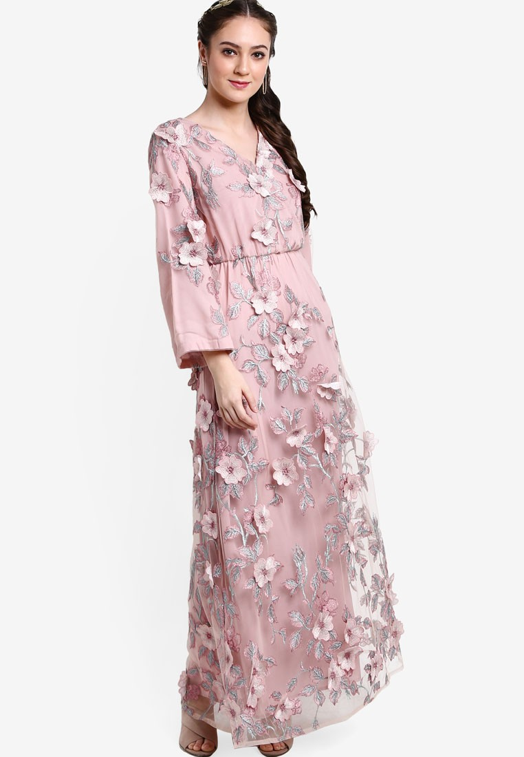 Baju Muslimah Ngetren Trend Busana Muslim Terbaru Untuk Baju Gamis