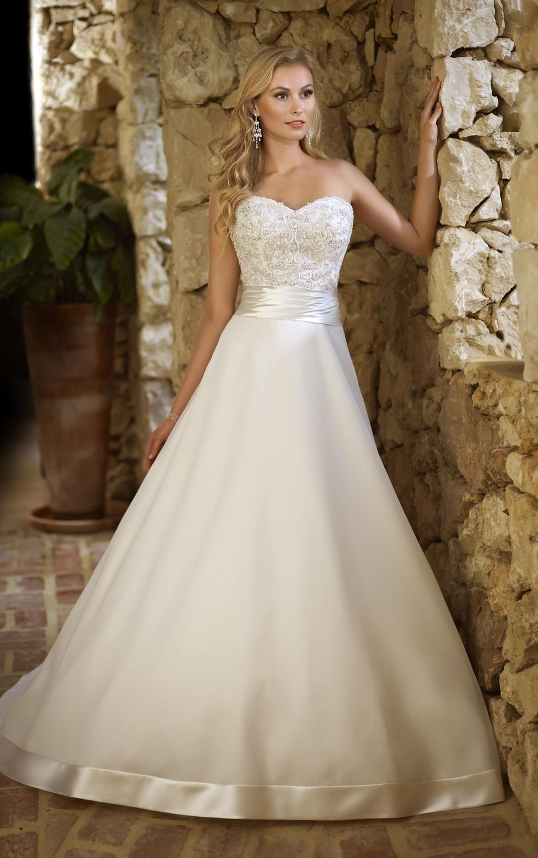 Vestidos de novia elegantes ¡15 Imagenes de moda!   Somos Novias