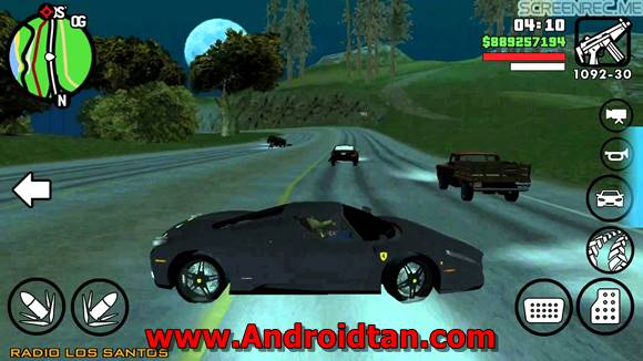 Grand Theft Auto: San Andreas Mod Apk Android v1.08 Terbaru 2017 Free Download