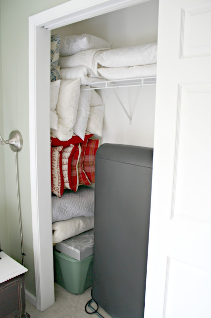 Adding shelves at the end of closet
