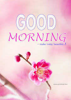 Good morning greetings make today beautiful