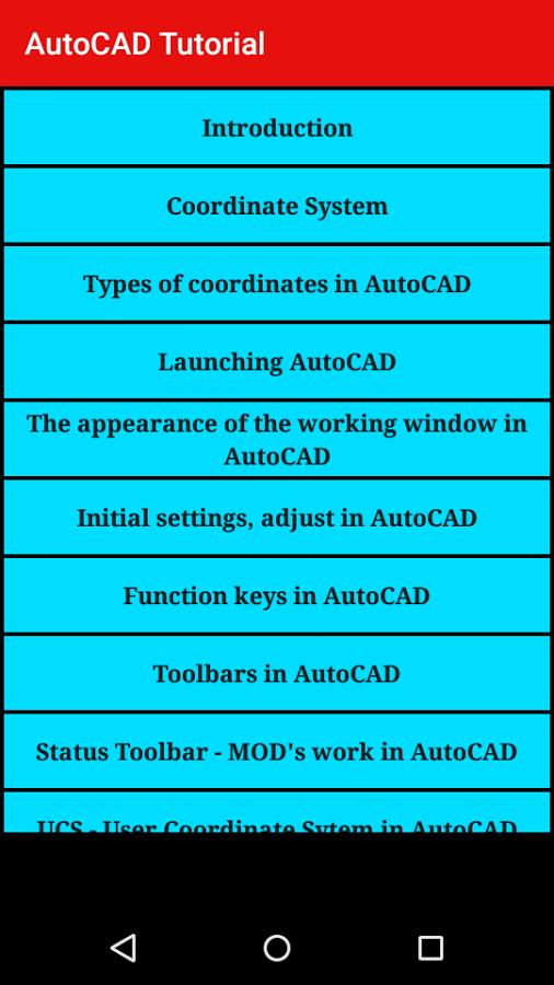 CNC Programming: AutoCAD Tutorial - 2D & 3D [App]