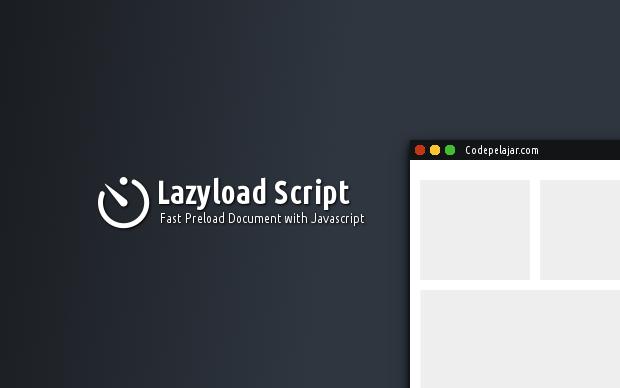 Lazyload Image, Javascript dan CSS