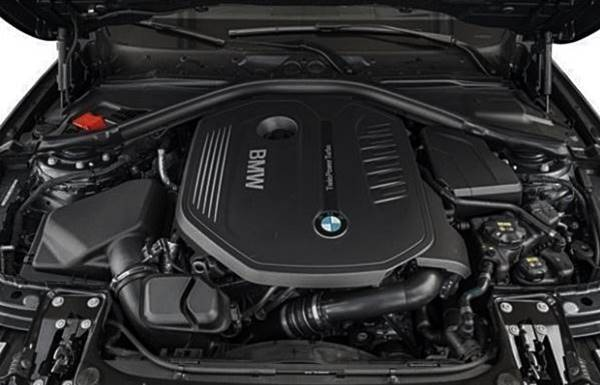2017 BMW 340i xDrive Engine