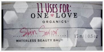 One Love Organics Skin Savior Waterless Beauty Balm