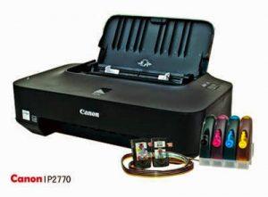 Cara Memperbaiki Printer Canon iP2770 Lampu Kuning Berkedip 5 Kali