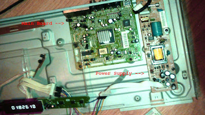 Philips DVP5960 Main Board and Power Supply