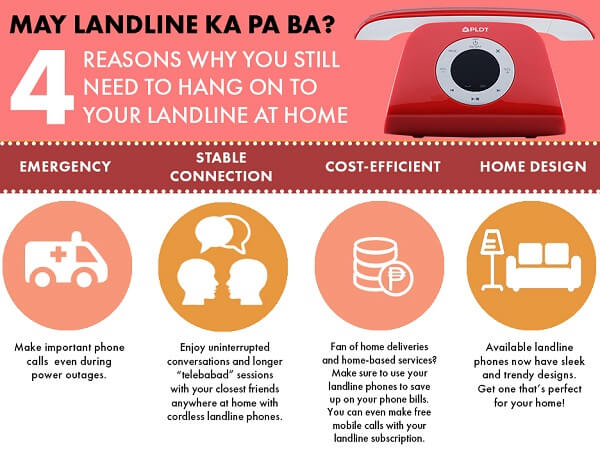 Four Reasons Why You Still Need a Landline at Home