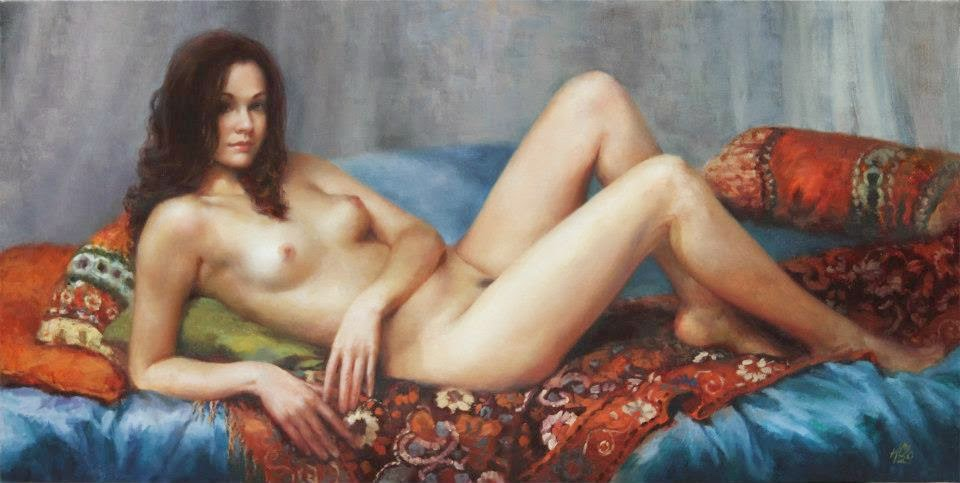 H Momo Zhou | pintura figurativa