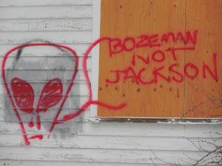 Graffiti, Bozeman, MT
