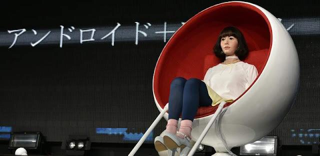 Androide hiperrealista es la nueva presentadora de tv en Japón