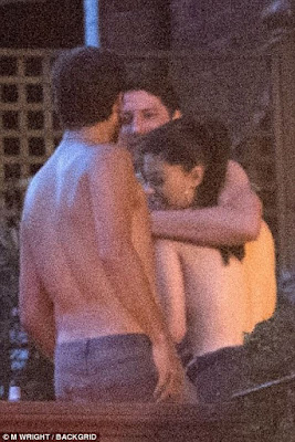 1f - Scott Disick Hangs Out With Topless Woman in London