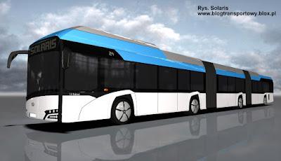 Dwuprzegubowy Solaris Urbino electric