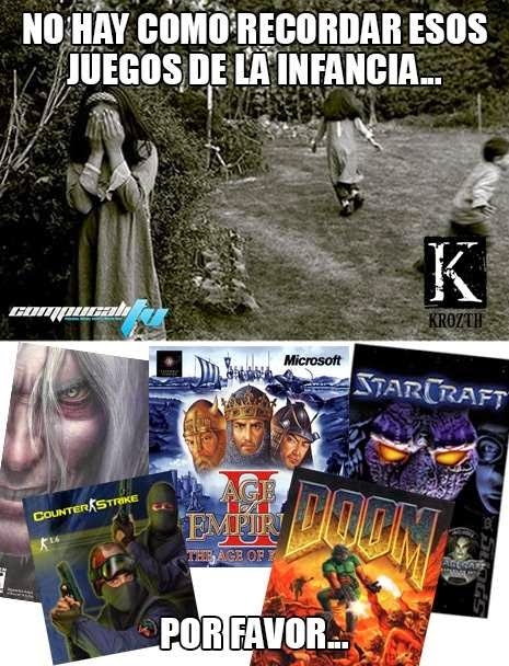 Nada mejor que recordar juegos de la Infancia