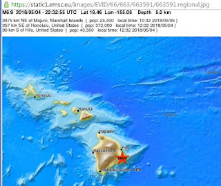 6.9-magnitude earthquake hits Hawaii.