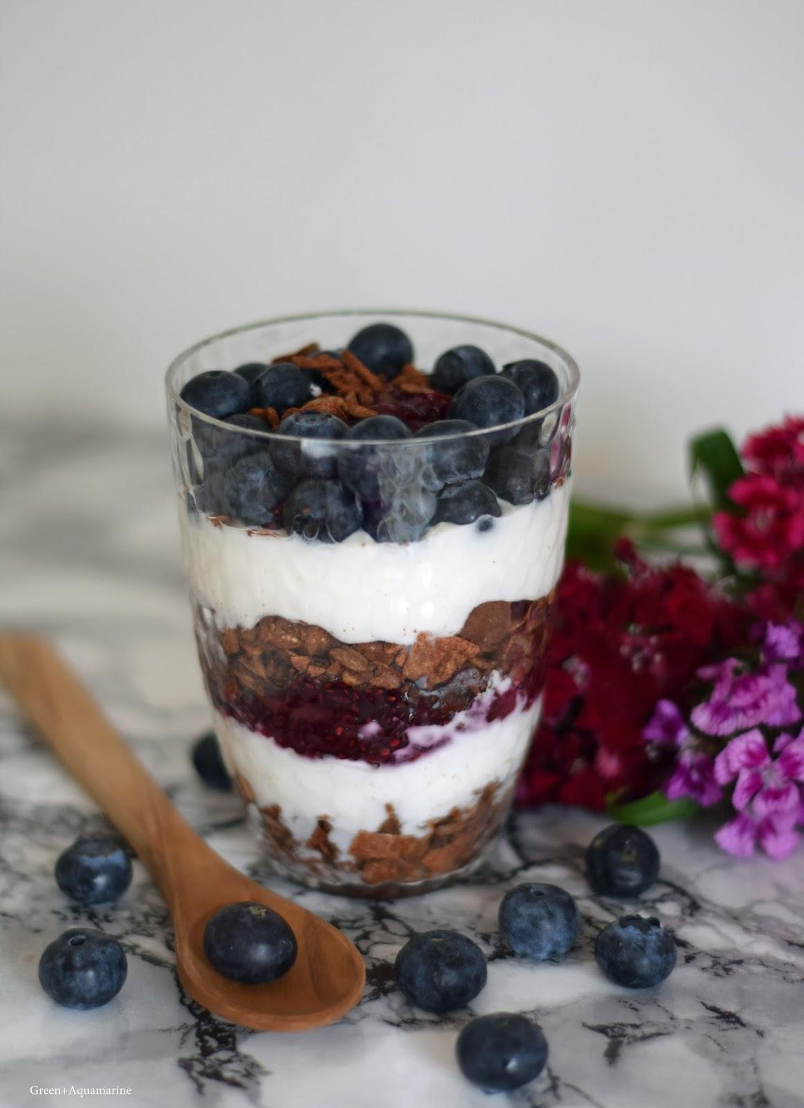 Black Forest inspired parfait, using Planet Organic's paleo granola. Via @eleanormayc