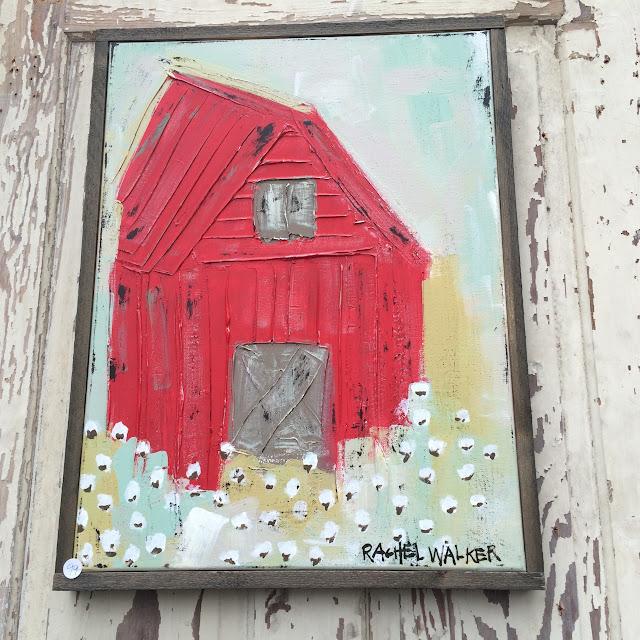 Summerville Flowertown Festival 2016 - Rachel Walker Barn Painting  | The Lowcountry Lady