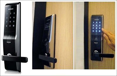 Khóa điện tử bảo vệ văn phòng không mất trộm
