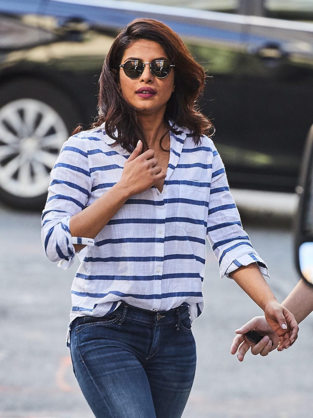 Priyanka Chopra Sexy Candids From New York - Hd Latest -8938