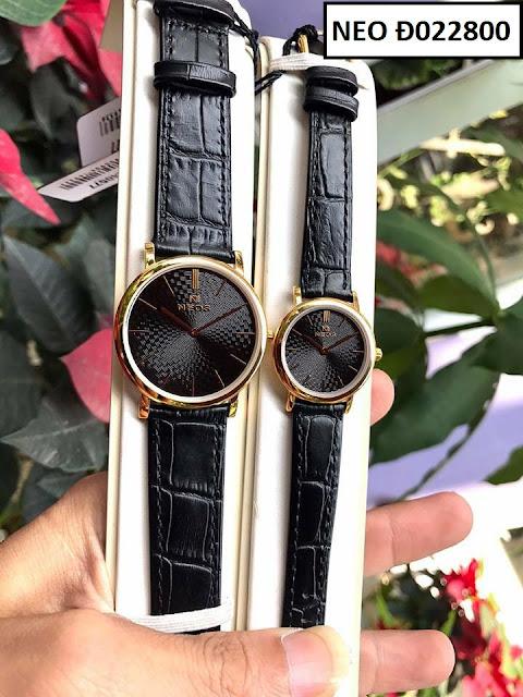 Đồng hồ dây da Neos Đ022800