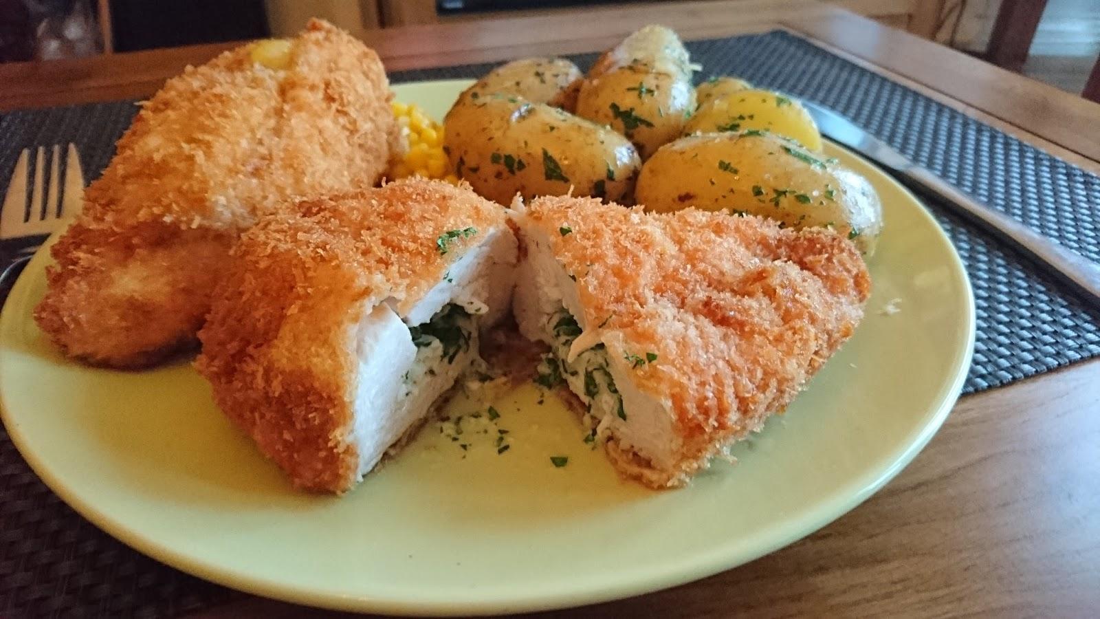 M S Chicken Kiev Recipe: Classic chicke...