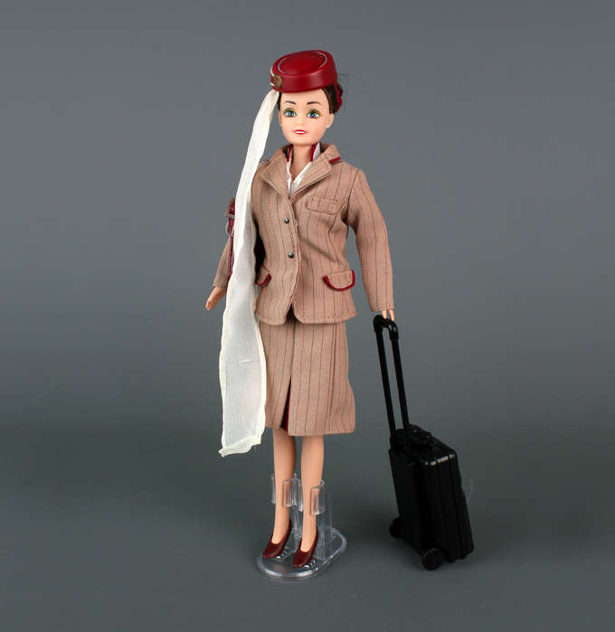 emirate cabin crew barbie