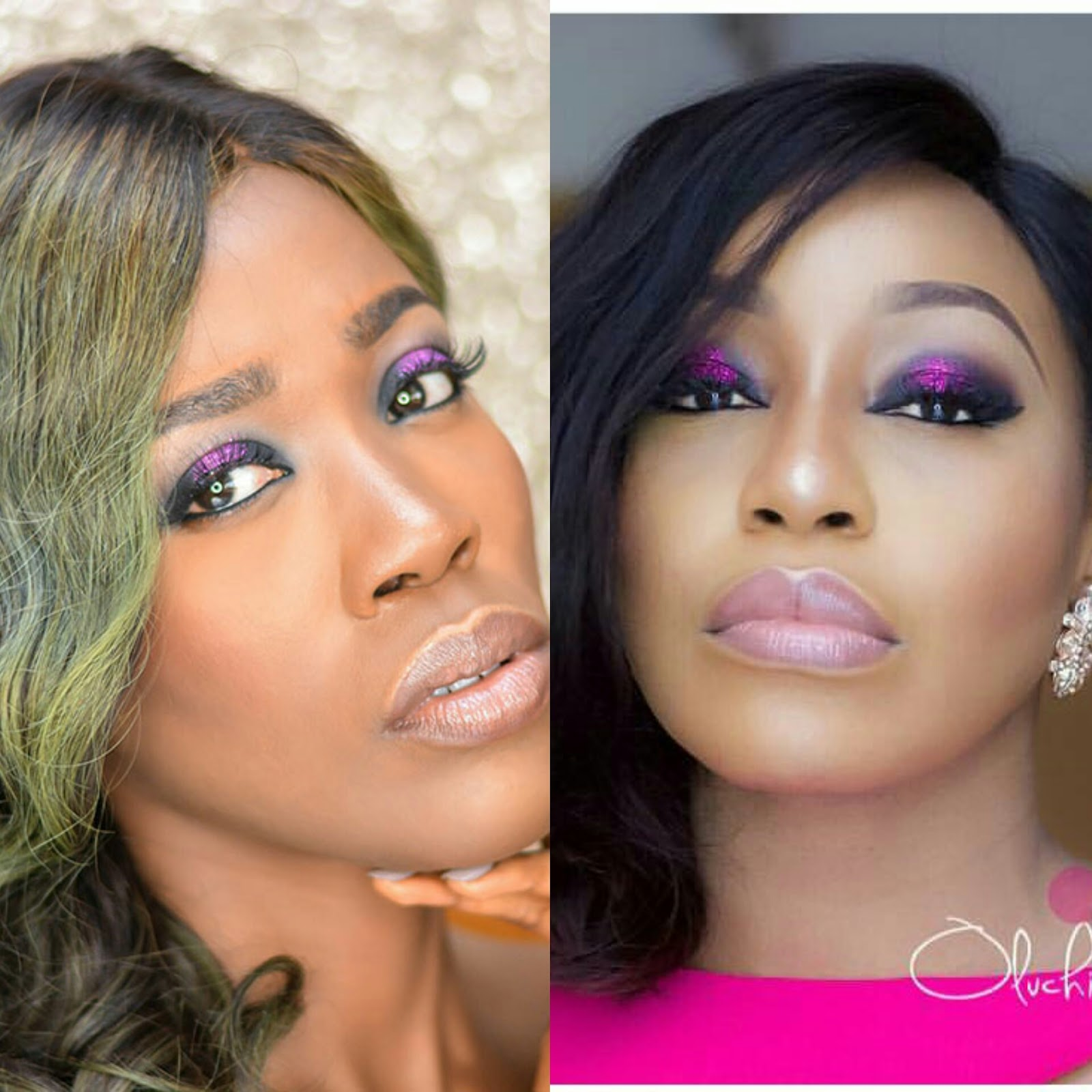 Get The Look Featuring Rita Dominic Tutorial Dobzi Fingers Is On