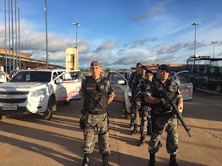 Operação policial, no feriado, diminui índices no município de Coari