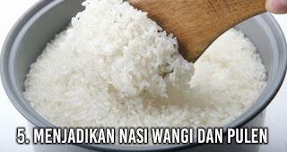 Menjadikan Nasi Wangi dan Pulen