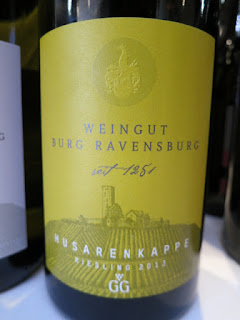 Burg Ravensburg Husarenkappe Riesling Grosses Gewächs 2013 - Baden, Germany (91 pts)