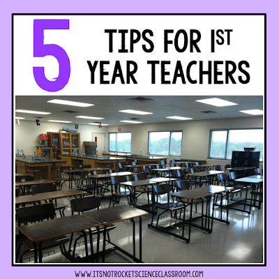 Being a first year teacher can be really challenging and preparing for the back to school season can be really overwhelming for new teachers!  Here are 5 tips and strategies that I've learned to help teachers survive, thrive, and prepare for their first year teaching.