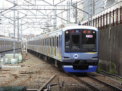 東急東横線 副都心線・西武線直通 各停 飯能行き1 Y500系