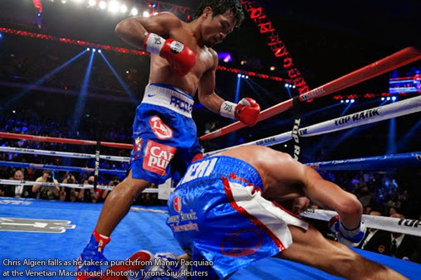 Game Highlights Only 1 Knockdown is Real Claims Algieri