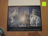 Januar: Laurent Pinsard 2016 - Triplets Posterkalender Naturkalender quer - 64 x 48 cm