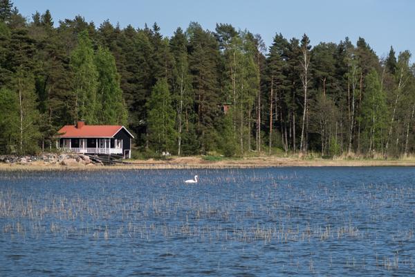 mökki suomenlahdella loviisa strömsland suomenlahti joutsen merinäköala saaristo