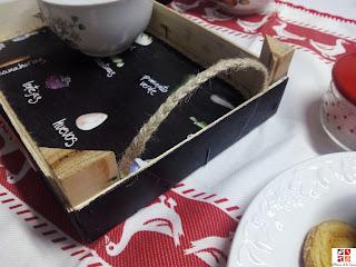 reciclar caja de fruta en bandeja