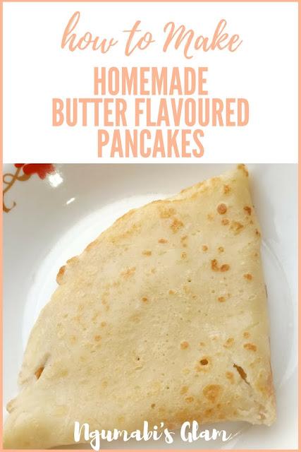 how to make homemade original pancakes