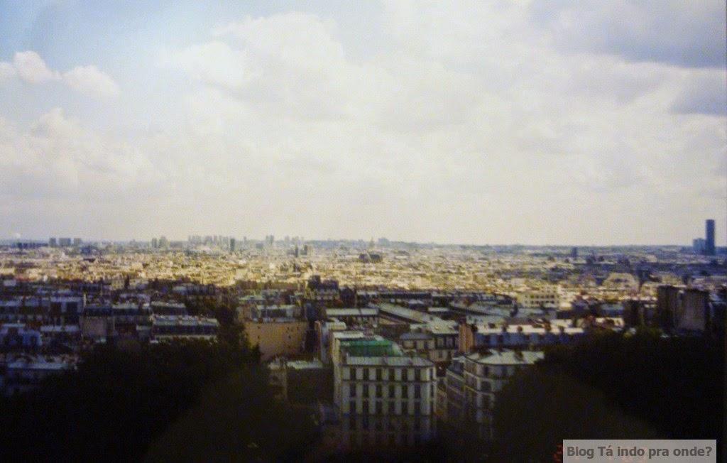 vista da Sacré Coeur - Paris